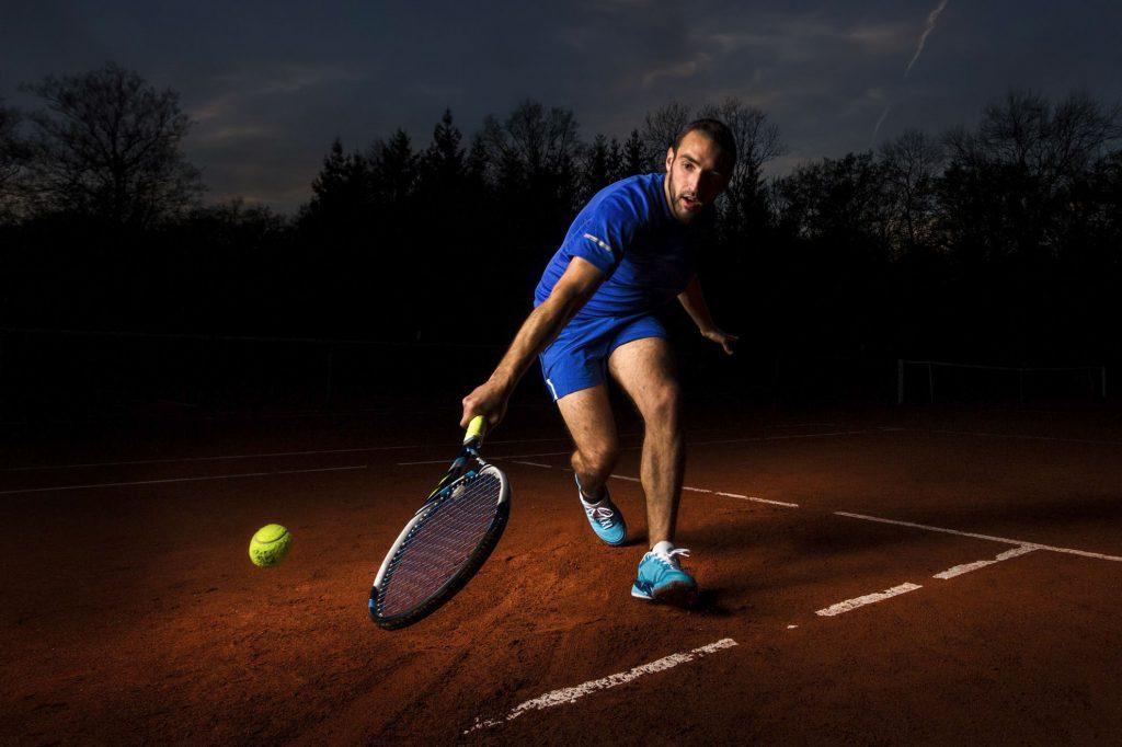 Tennis - Photographie commerciale