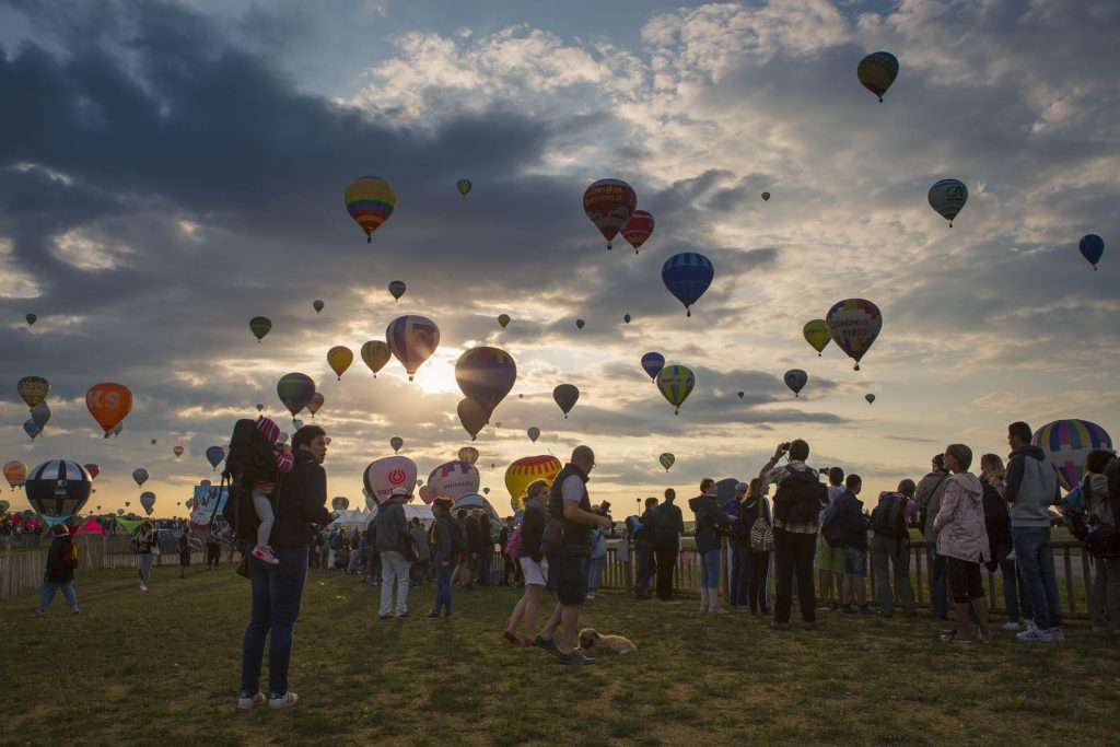 Reportage photo au Mondial Air Ballon rait