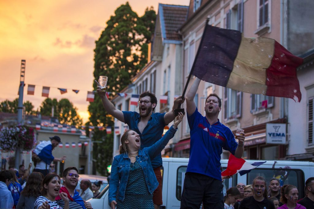 Reportage photo pendant la finale de coupe du monde à Vittel