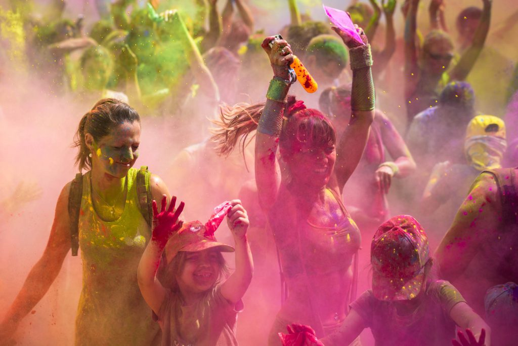 Reportage photo pendant la Color Run de Belfort