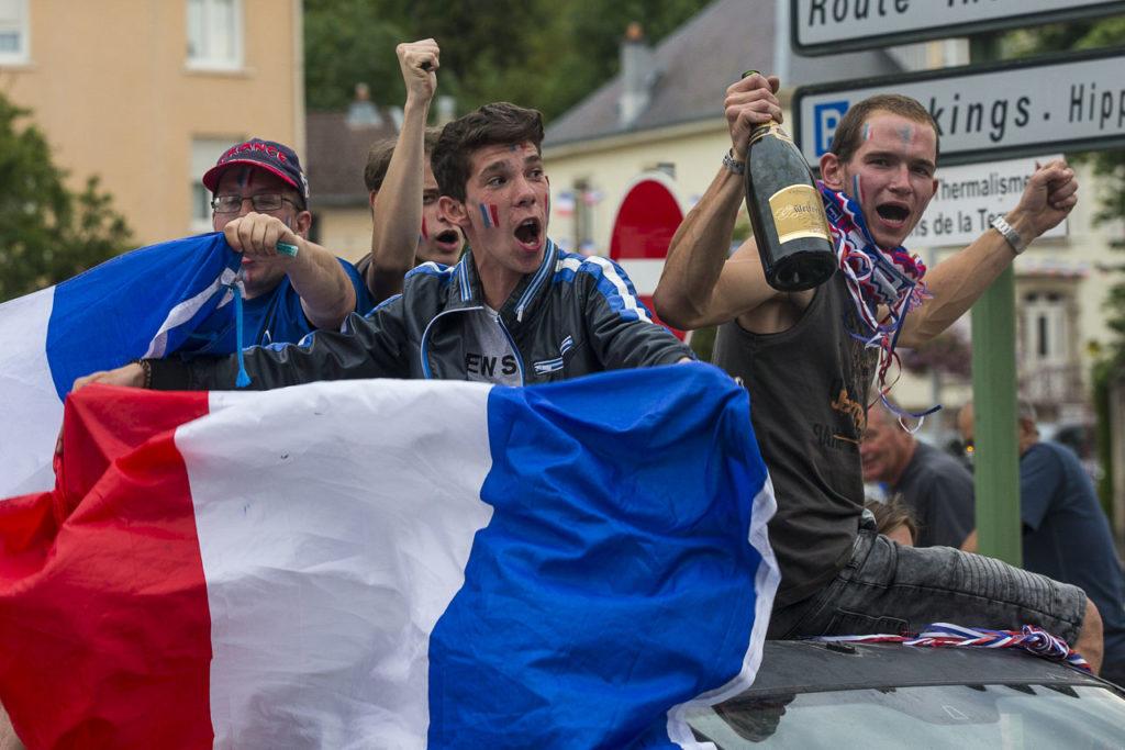 Victoire de la France en finale de coupe du monde